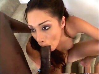 Incredible pornstar in Horny Amateur, Brunette adult movie